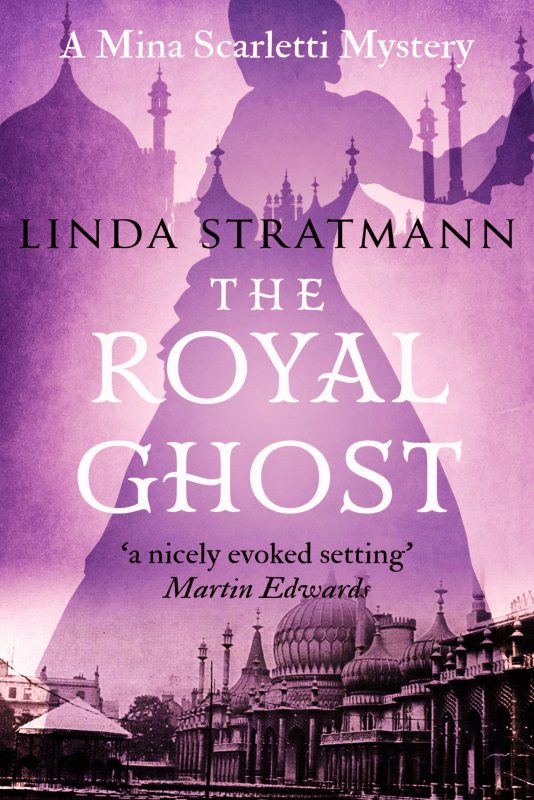 The Royal Ghost (Mina Scarletti Mysteries #2)