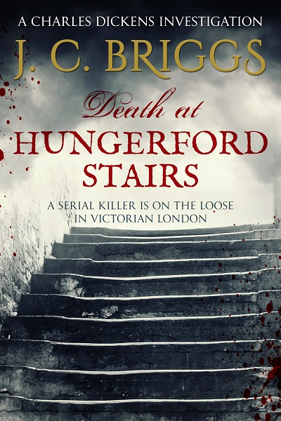 Death at Hungerford Stairs (Charles Dickens Investigations #2)