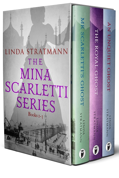 The Mina Scarletti Mystery Series: Books 1-3