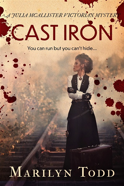 Cast Iron (Julia McAllister Victorian Mysteries #2)