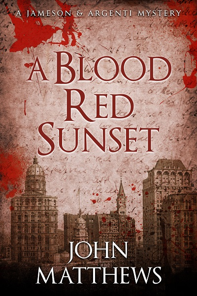 A Blood Red Sunset (Jameson & Argenti Mysteries #3)