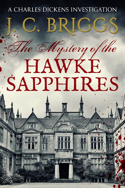 The Mystery of the Hawke Sapphires (Charles Dickens Investigations #7)